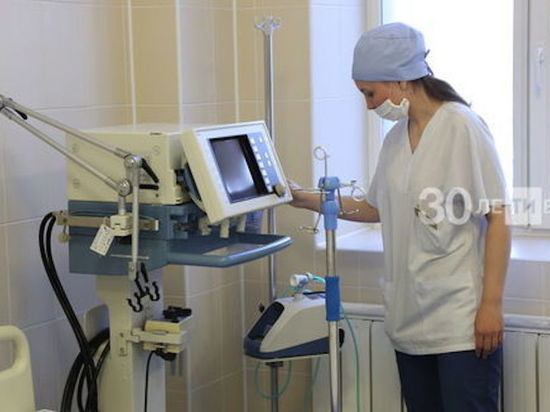 В Татарстане 58 пациентов с коронавирусом подключены к ИВЛ