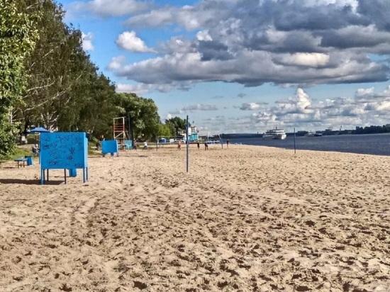 В Ярославле пляжи не готовы к приему горожан