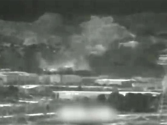 Опубликовано новое видео устроенного КНДР взрыва на границе