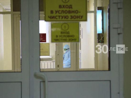 В Челнах вдвое увеличили число коек в ковидных госпиталях