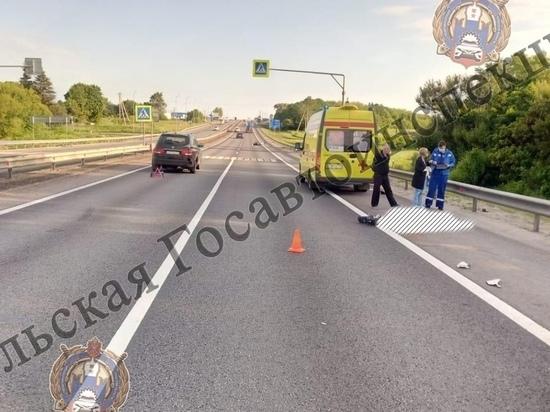 Мотоциклист разбился насмерть под Ефремовом