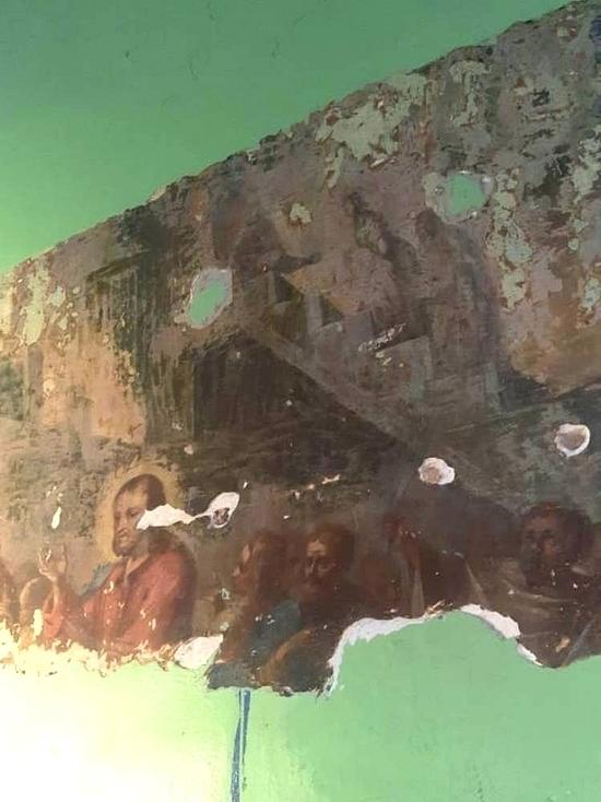 В одном из храмов Серпухова найдены уникальные фрески