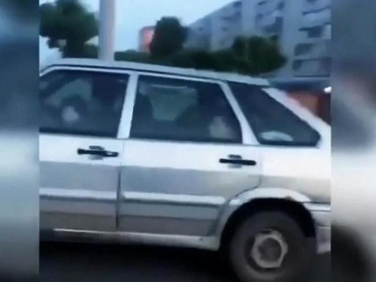 В Татарстане годовалый ребенок «сел за руль» легковушки