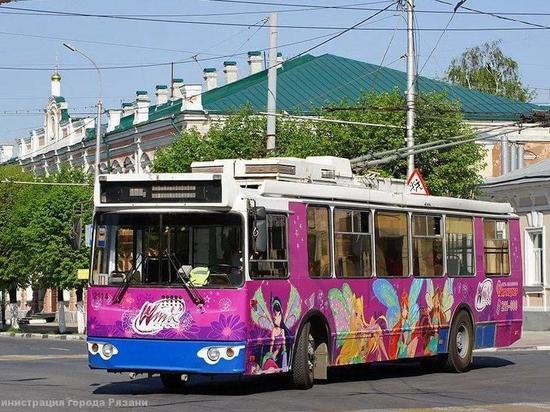 В Рязани изменится схема движения троллейбусов