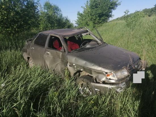 В Грачевском районе за рулем погиб водитель