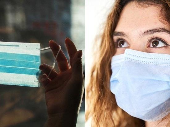 Кашель снижает эффективность защитной маски