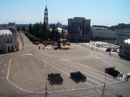 В Тамбове репетируют парад Победы