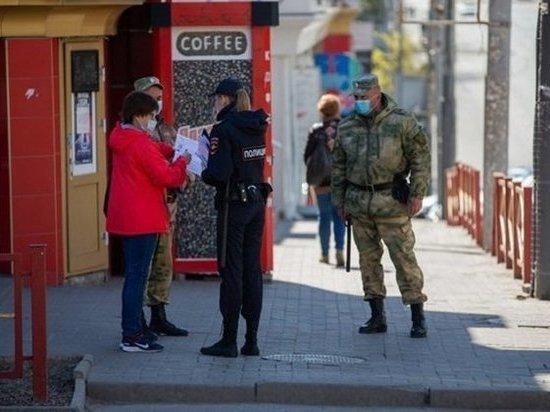 В Ростовской области за сутки правоохранители составили 268 протоколов о нарушении самоизоляции