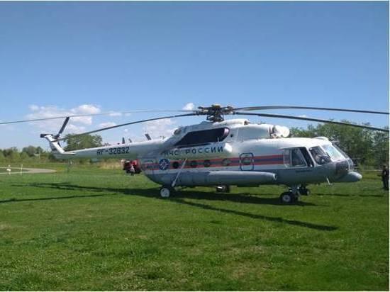Вертолет экстренно доставил женщину в Тверь