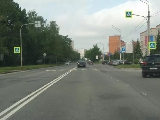 В УГХ объяснили появление двойных сплошных на магистралях Пскова