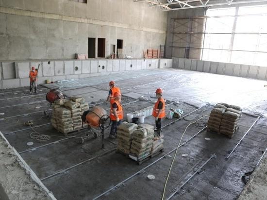 Строительство социально важных объектов в Серпухове находится в завершающей стадии