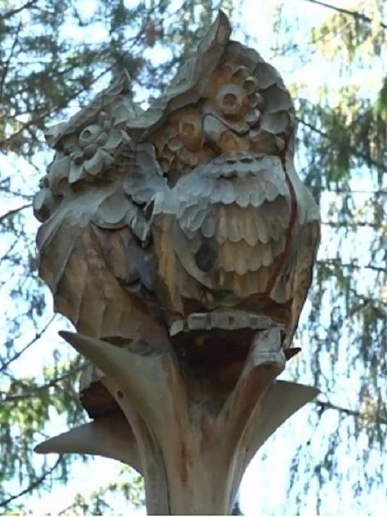 В Шарье проходит конкурс деревянных скульптур
