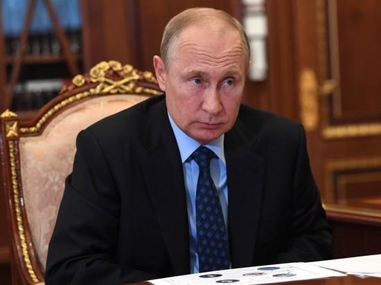 Путина стали беречь от коронавируса с утроенной силой