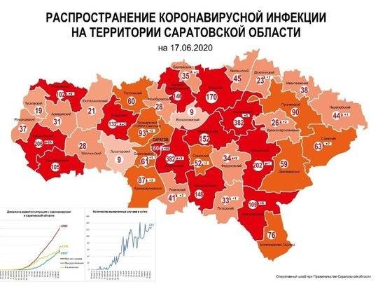 В Саратовской области появилась 13-ая красная зона