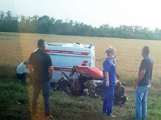 Супруги погибли в аварии на трассе Ростов – Ставрополь