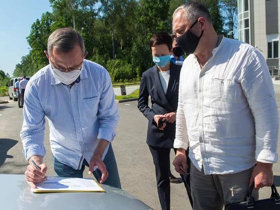 Шапша поручил подключить обнинский поселок к КСК