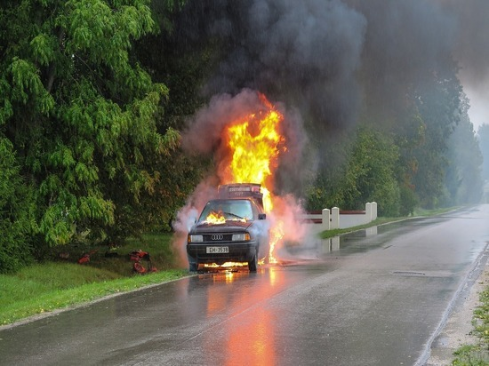 В Саранске 6 человек сгорели заживо в результате ДТП