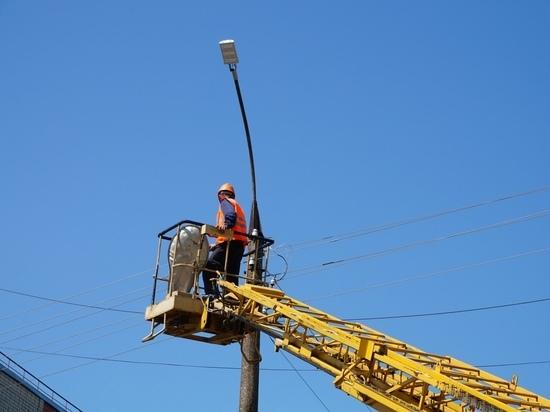 В Йошкар-Оле завершается обновление уличных светильников