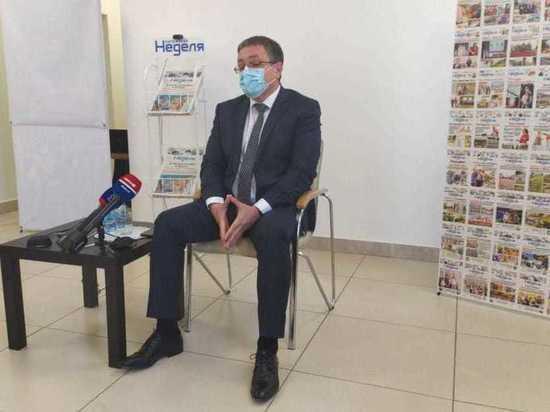 Денисов рассказал, с каким губернатором ему комфортнее работать