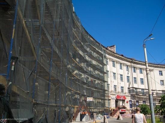 В Петрозаводске планируют обновить фасады 48 многоквартирных домов