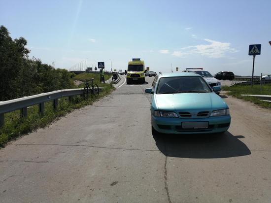 В Рязанской области «Ниссан» сбил 33-летнего велосипедиста