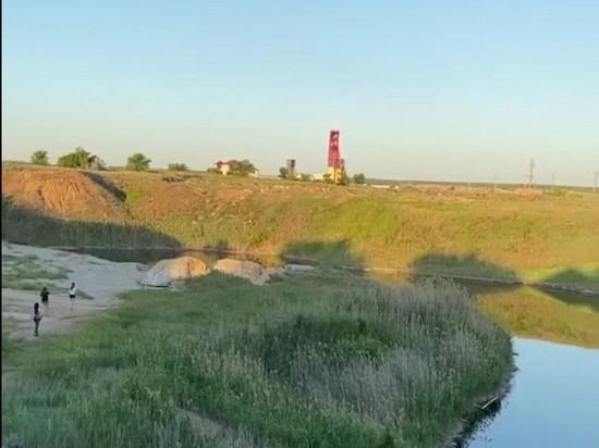 В Соль-Илецке нашли неизвестное озеро