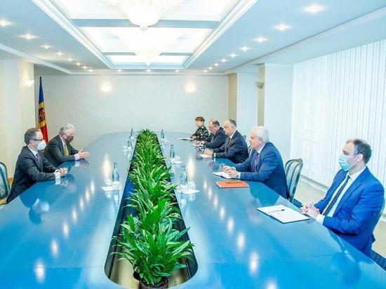 В центре внимания президента Молдовы - приднестровское урегулирование