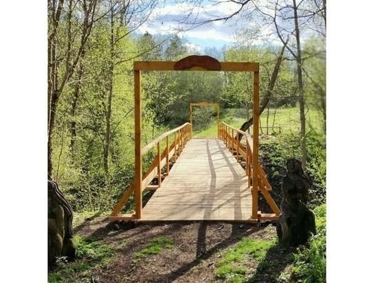 В Смоленском Поозерье появился новый мост Любви