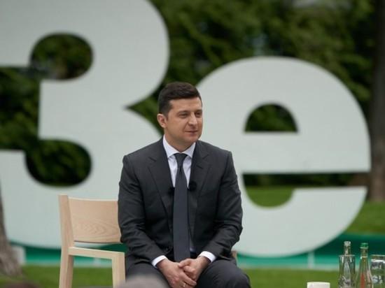 На Украине новорожденного назвали Зеленским