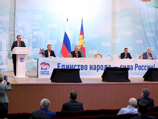 «Единая Россия» выдвинула кандидатуру Вениамина Кондратьева на пост губернатора Кубани