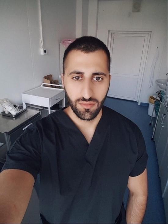 Тульский студент-медик стажируется в Коммунарке