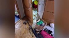 СК показал место бойни на улице Приорова: четверо погибших