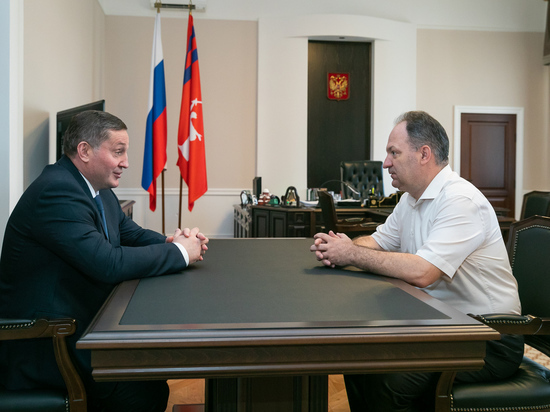 Губернатор встретился с новым председателем Волгоградского облсуда