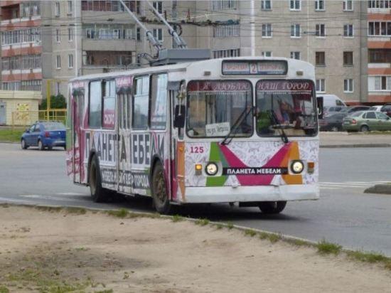 В Йошкар-Оле изменены два маршрута движения троллейбусов
