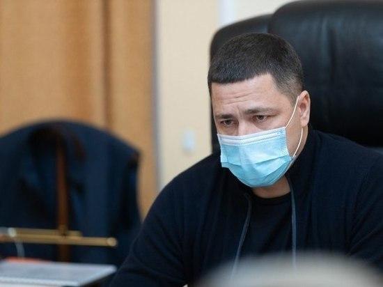 Об условиях нахождения псковичей в ТЦ рассказал Михаил Ведерников