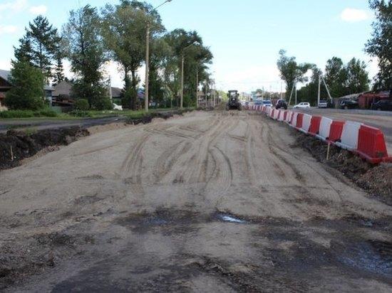 В связи с реконструкцией проезд на Павших Коммунаров в Абакане перекроют на месяц