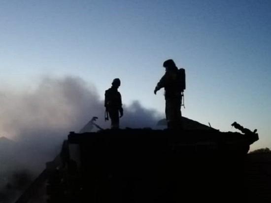 В пожаре в Сарапульском районе погибло четыре человека