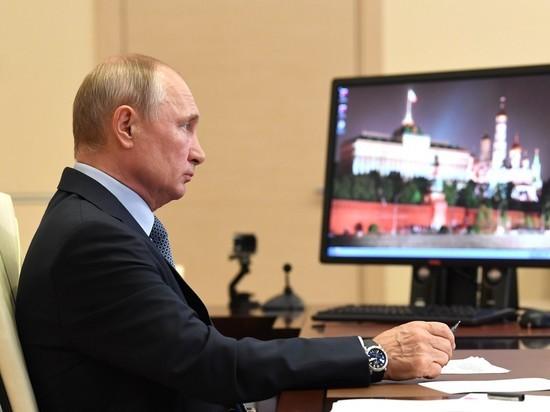 Путин начал прощание с коронавирусом