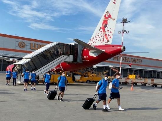 «Зенит» прилетел в Москву на игру с ЦСКА