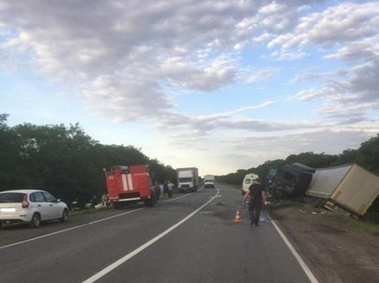 В ДТП на трассе Волгоград-Каменск скончался 53-летний мужчина