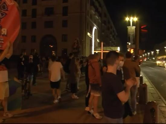 Задержанных на пикете в Минске представителей СМИ отпустили