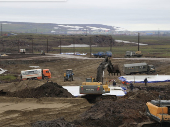 Под Норильском собрано более 32 тыс тонн водонефтяной смеси
