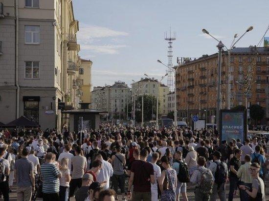 Около 80 человек задержали в Минске после предвыборных акций