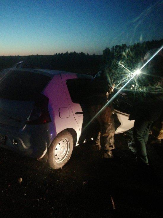 Смертельное ДТП: на трассе Бугульма-Уральск водитель иномарки протаранил газель