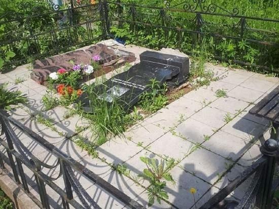 Полиция раскрыла детали погрома на Трифоновском кладбище Калуги