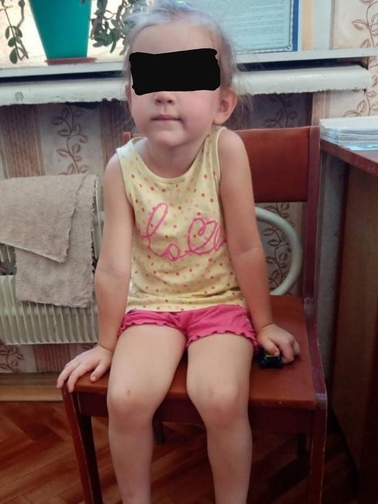 В Оренбурге на улице Луговой нашли ребенка