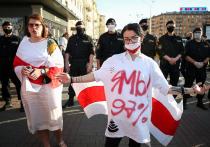 В Белоруссии возобновились акции протеста против задержания претендента на пост президента Виктора Бабарико и других оппозиционных активистов