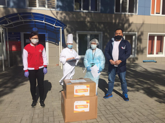Калмыцкие фронтовики оказали очередную помощь врачам