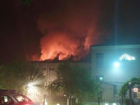 Сотрудники МЧС локализовали пожар в детском доме под Калининградом