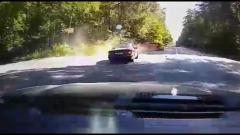 Момент жуткого ДТП в Калуге попал на видео